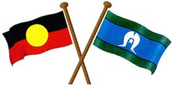 Australian indigenous flags